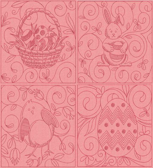 Easter Quilt Blocks 1