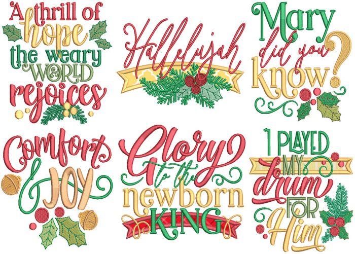 Christmas Word Art 12