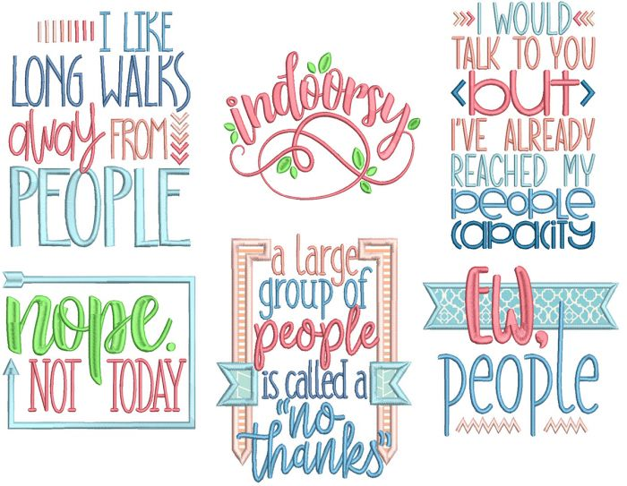 Quirky Word Art