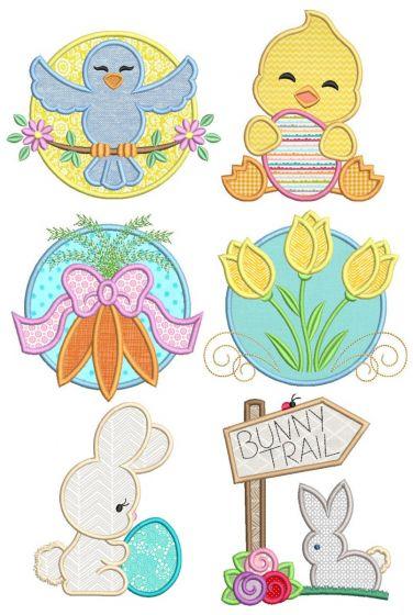 Welcome Spring Applique