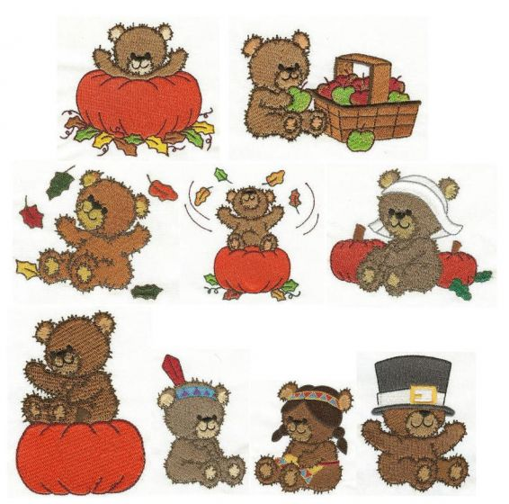 Beary Sweet Autumn Bears