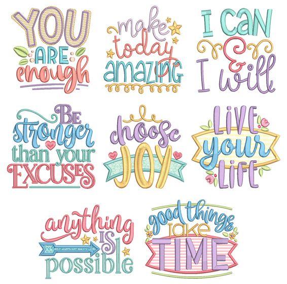 Inspired Sayings Set 5