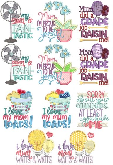 Mother's Day Word Art 2