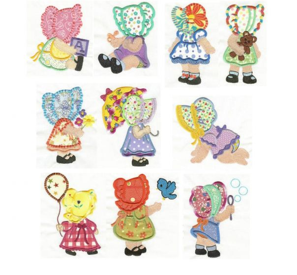 Sunbonnet Babies Applique