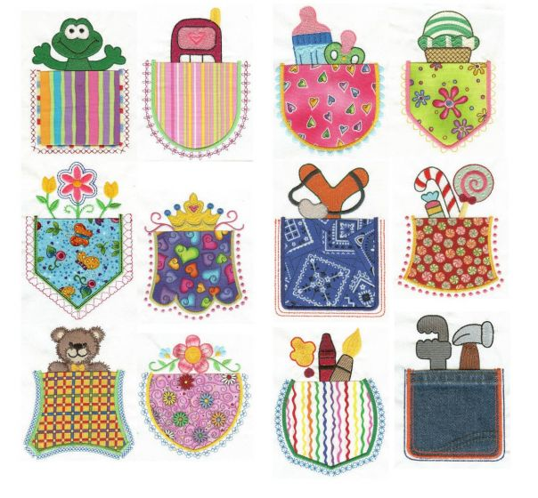 What's in your Pocket? Applique
