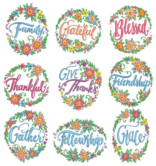 Give Thanks Wreaths
