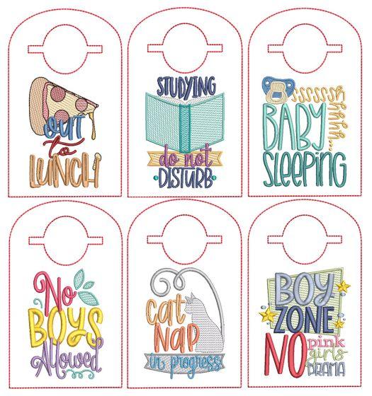 ITH Doorknob Hangers Set 1