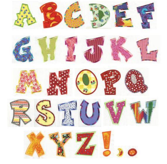 Fun Applique Alphabet