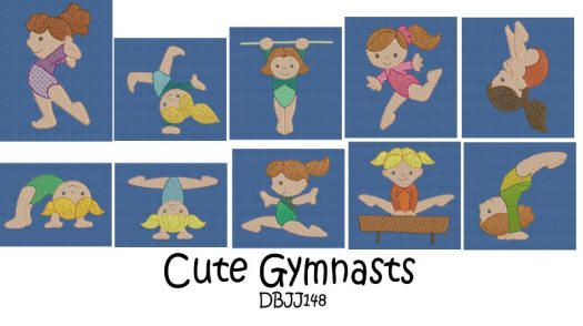 Cute Gymnasts