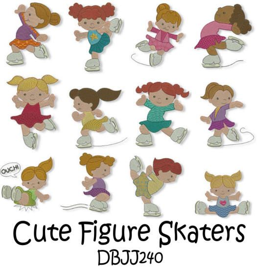 Cute Figure Skaters