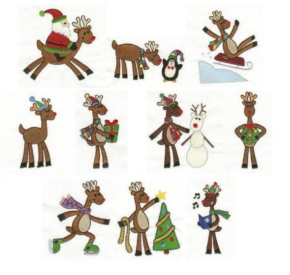 Funky Reindeer