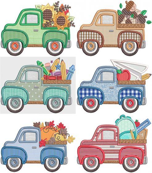 Vintage Trucks Fall