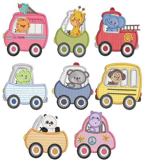 Cute Chunky Animals Cars