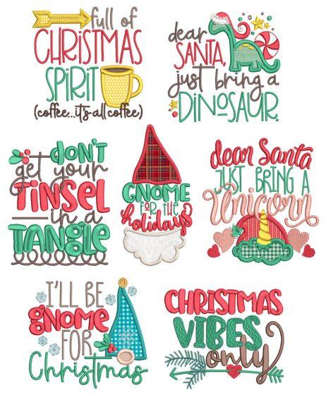 Christmas Word Art 8