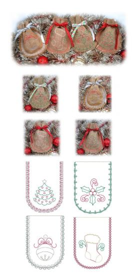 Simply Seasonal Gift Bags Set 2