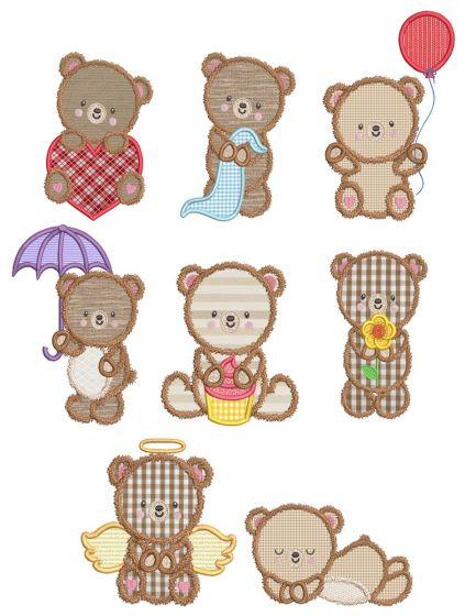 Fuzzy Teddy Bears