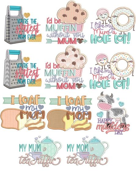 Mother's Day Word Art 3