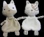 Cat Flatty Doll