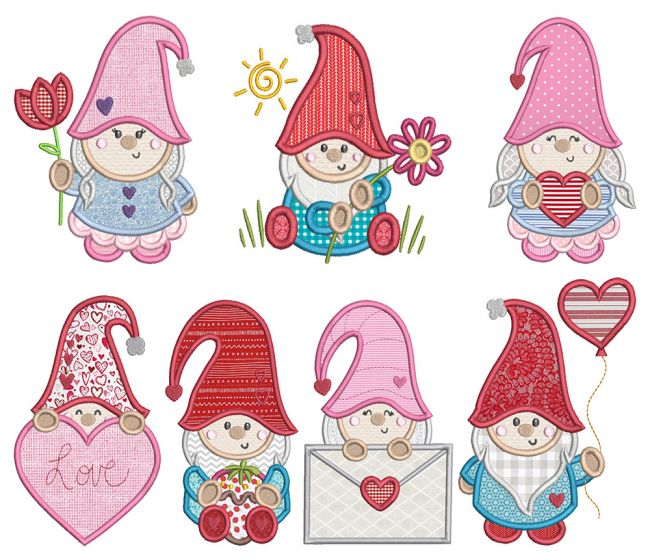 Valentine Gnomes 1