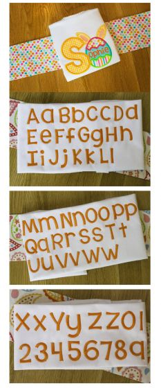 Cute chunky machine embroidery font the last time kimberly geswein