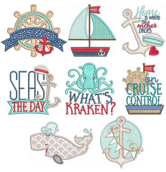 Nautical Word Art