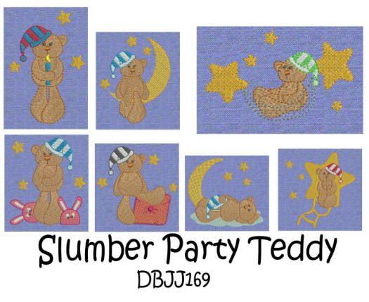 Slumber Party Teddy
