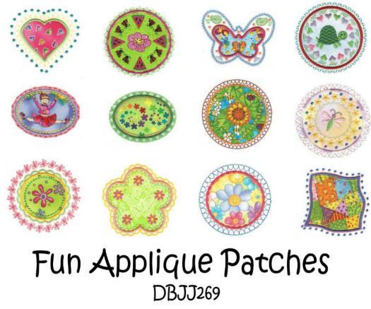 Fun Applique Patches