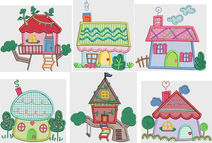 Whimsy Cottages 1