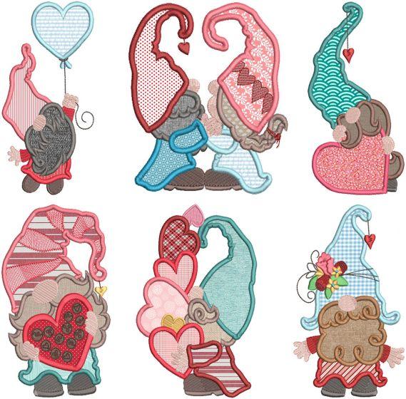 Sweet Valentine Gnomes