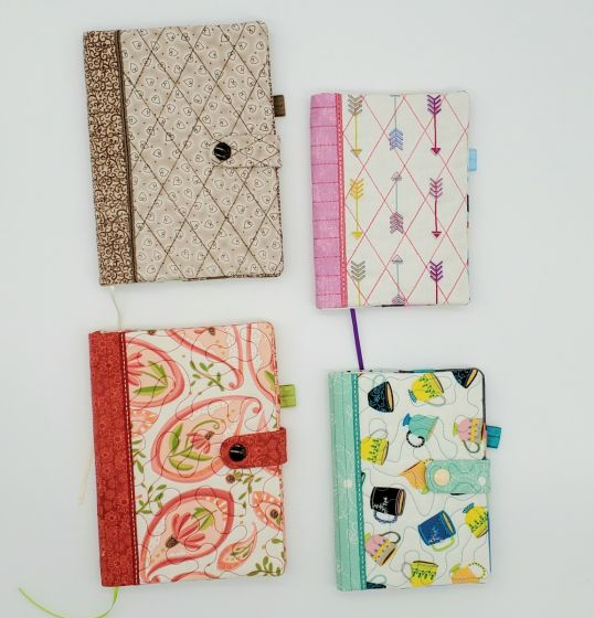ITH Snap Tab Small Notebook Cover Set 1 Digital Machine Embroidery Designs by JuJu Exclusive