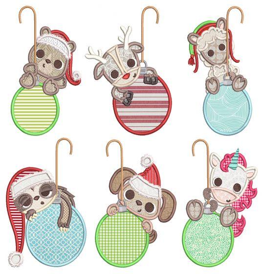 Christmas Dangling Critters