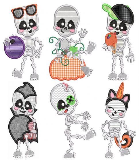 Cute Skeletons Halloween