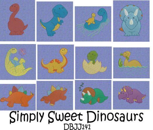 Simply Sweet Dinosaurs