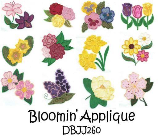 Bloomin' Applique