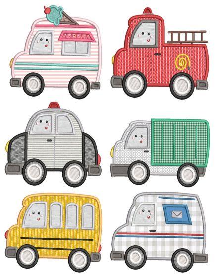 Cute Town Vehicles