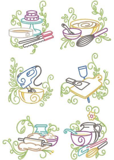 Swirly Kitchen 3