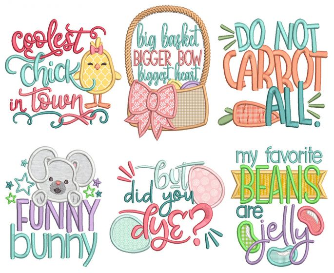 Easter Word Art 6