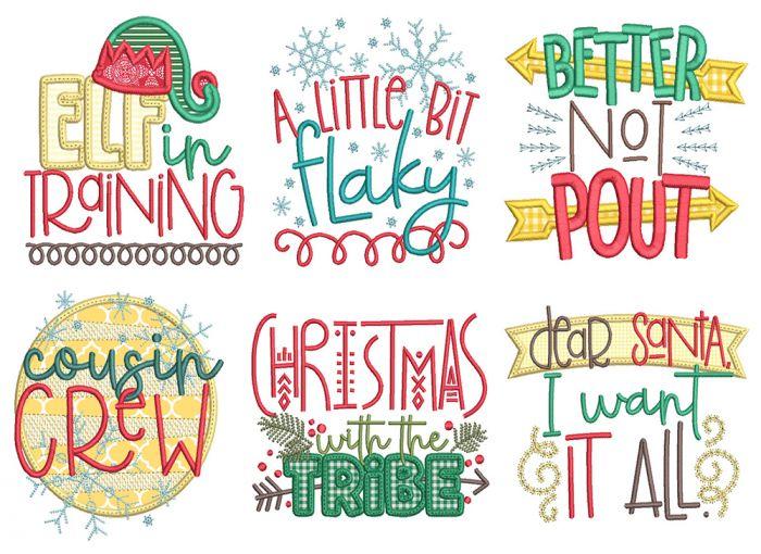 Christmas Word Art 5