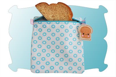 Reusable Snack and Sandwich Bags In The Hoop