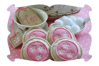 Play Food Tea Cookies