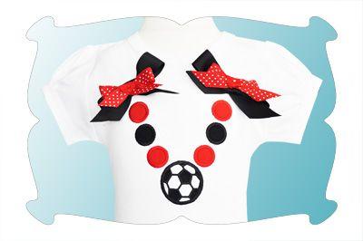 Soccer Beads Applique