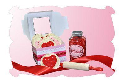 Valentines Day Play Food Cookies