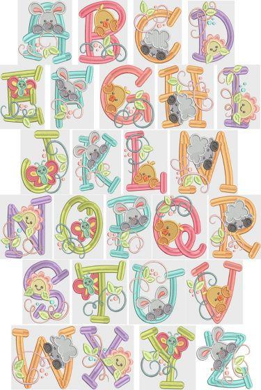 It's Spring Alphabet