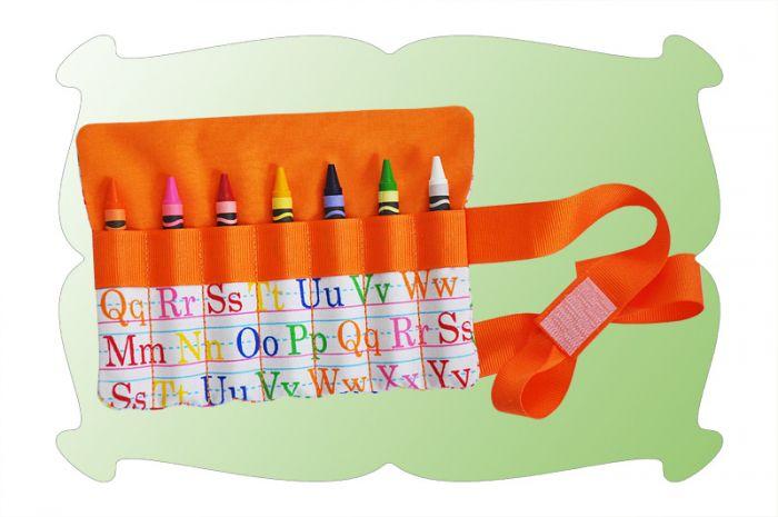 Crayon Roll In The Hoop