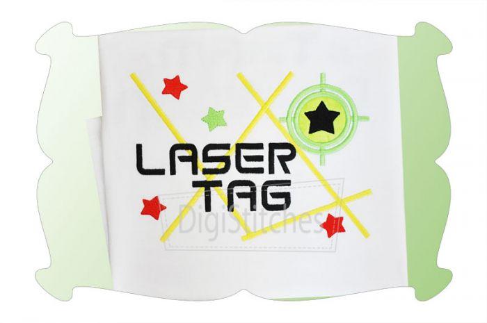 Laser Tag Applique