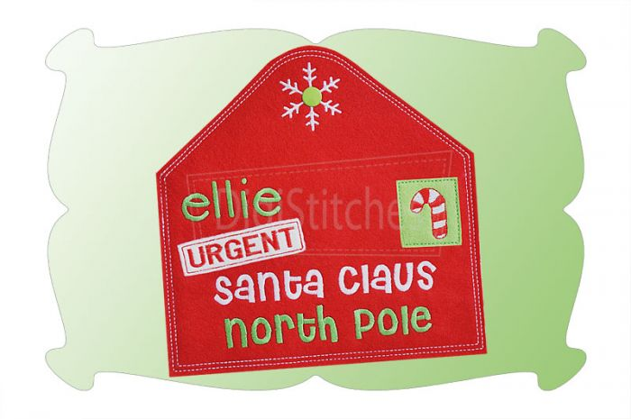 Letter To Santa In The Hoop