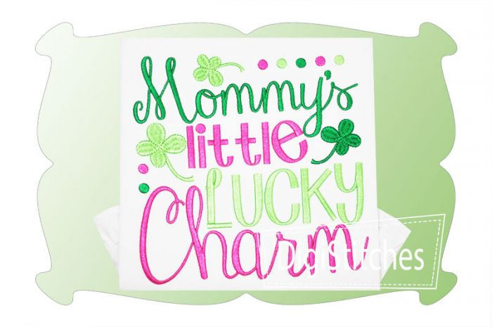 Mommys Little Lucky Charm Girl