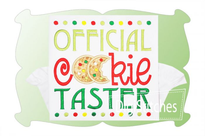 Official Cookie Taster Applique