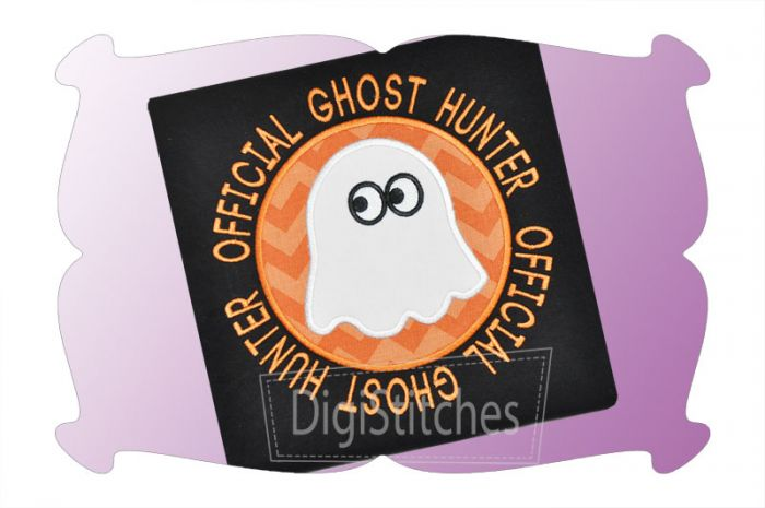 Official Ghost Hunter Applique