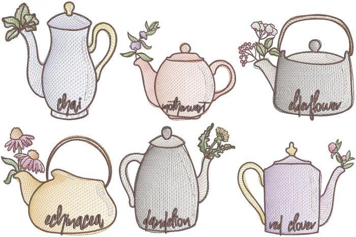 Tea Time Sketch